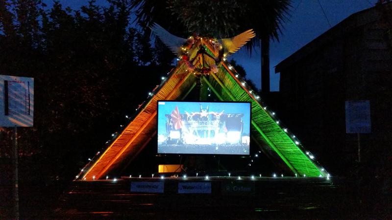 Mini Pyramid Stage