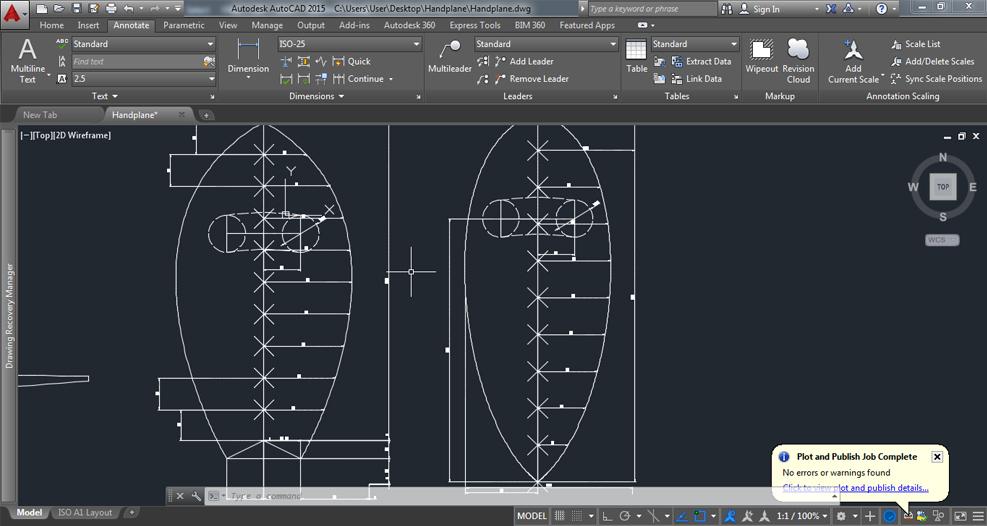 CAD-Handplane
